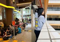 Demi Jaket Gratis, Ratusan Orang Rela Antre Hingga Menginap di Depan McDonald's