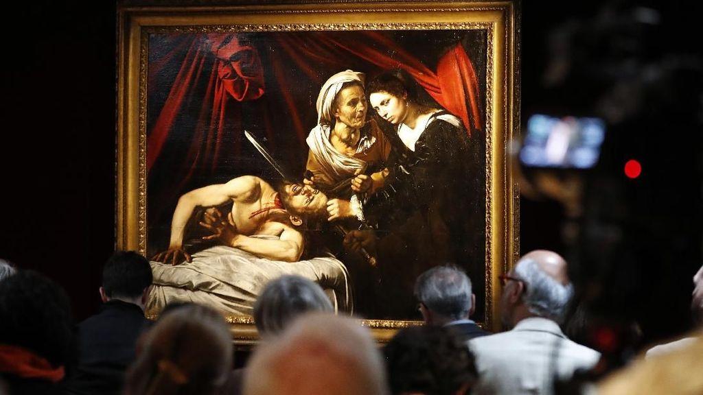 Lukisan Caravaggio yang Ditemukan di Loteng Terjual Rp 2,4 T