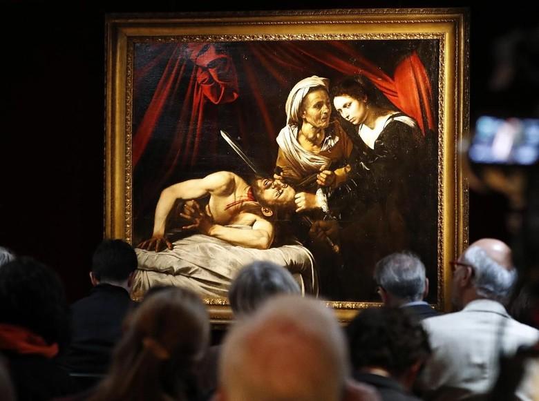 Lukisan Caravaggio yang Ditemukan di Loteng Dijual Rp 1,6 Triliun  Foto: AP Photo
