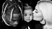 Hubungan Kylie Jenner dan Travis Scott kini tengah bermasalah. Dok. Instagram/kyliejenner