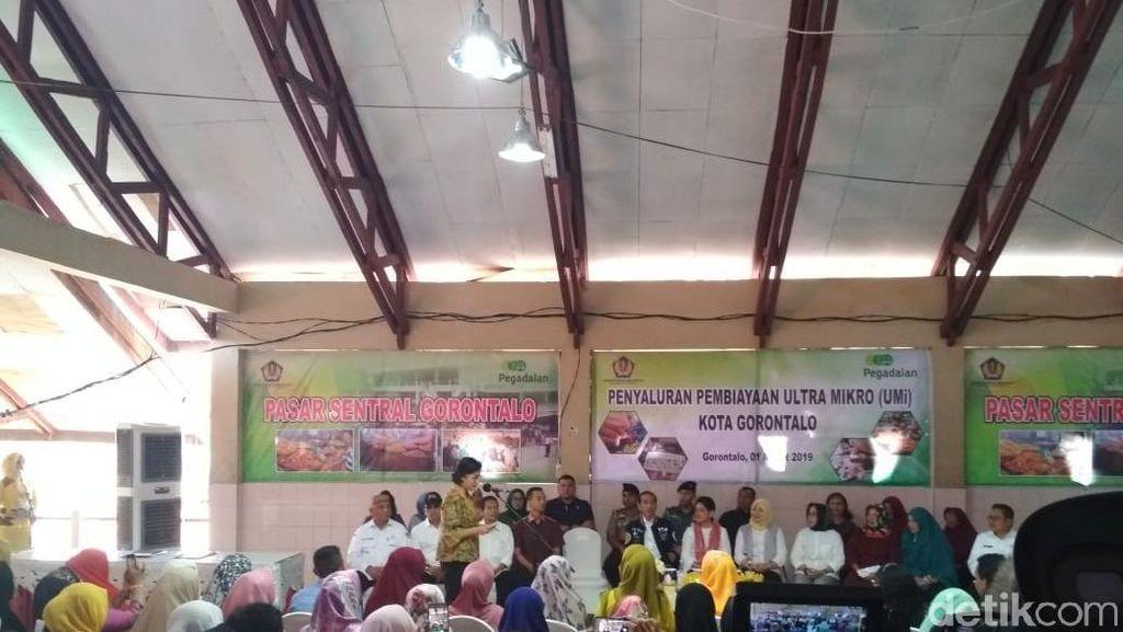 Sri Mulyani: 273 Orang di Gorontalo Dapat Pinjaman Usaha Rp 1,89 M