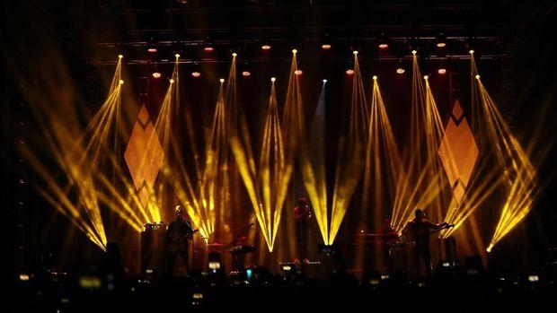 Kodaline Buka Konser di Jakarta dengan 'Follow Your Fire'