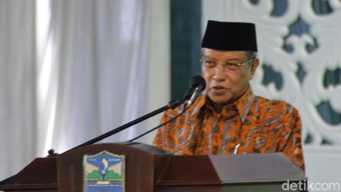 Ketua Umum PBNU Said Aqil Siroj. (Dadang/detikcom)