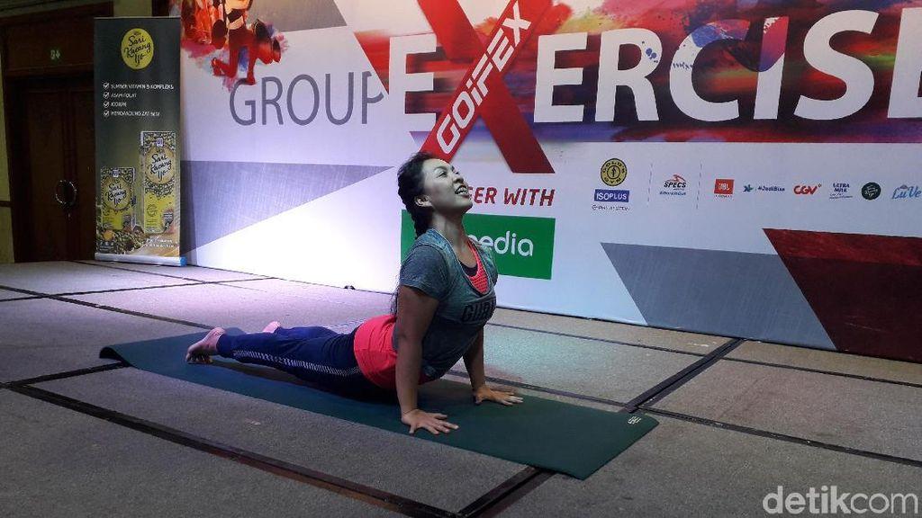 Berkat Yoga, Wanita Ini Turunkan Berat Badan 15 Kg dalam Setahun