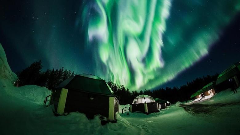 Indahnya Aurora Borealis di Finlandia yang Memukau Mata