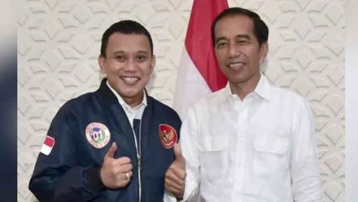Abdul Kadir Karding bersama Jokowi (Foto: dok pribadi)