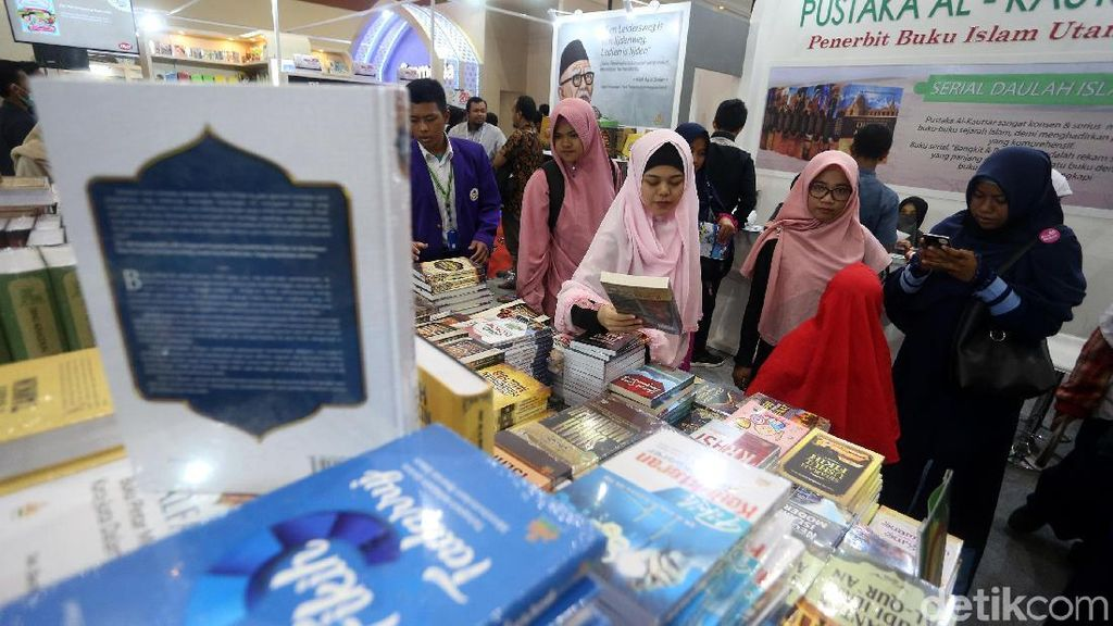Serunya Berburu Buku di Islamic Book Fair 2019