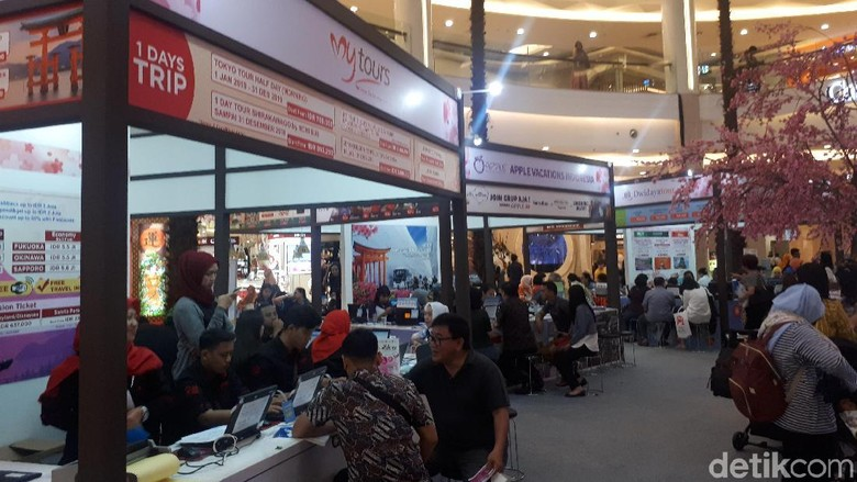 JNTO Travel Fair 2019 (Shinta/detikTravel)