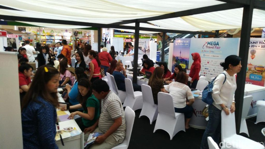 Mega Travel Fair Tebar Promo Jasa Fotografer Liburan