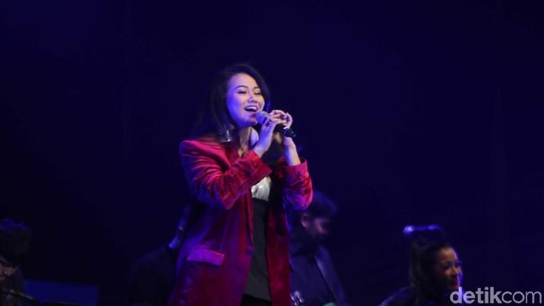 Foto: Yura Yunita di Java Jazz 2019 / Pradita Utama