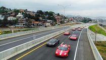 Tol Trans Jawa Dilintasi Ferrari, Bergelombang tapi Masih Wajar