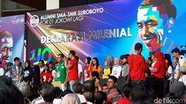 Alumni SMA Surabaya Dukung Jokowi, TKD: Kemajuan Dirasakan Rakyat