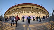 Wanda Metropolitano Piring Terbang Raksasa Itu Kini Menemukan Tuannya