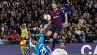 Sengit, Barca Ungguli Madrid 1-0 di Babak Pertama