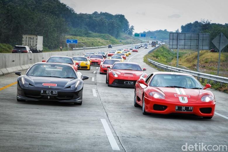 Komunitas Ferrari Owners Club Indonesia. Foto: FOCI