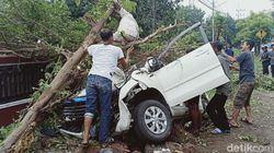 MPV Tabrak Pohon di Magetan, 5 Orang Luka 1 Kritis