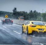 Biar Tak Kecelakaan, Ini Cara Aman Kendarai Ferrari di Tol