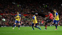 Hasil Liga Inggris: Lukaku Dua Gol, MU Menang Dramatis 3-2 atas Southampton