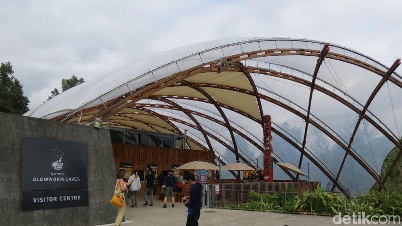 Tempat itu adalah Glowworm Caves di Waitomo, Selandia Baru. Jaraknya adalah 200 km dari Auckland (Fitraya Ramadhanny/detikTravel)