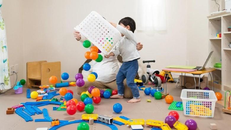 Ilustrasi mainan anak untuk bisnis online/ Foto: iStock