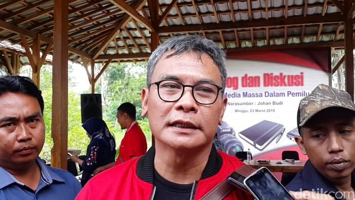 Johan Budi SP (Purwo Sumodiharjo/detikcom)