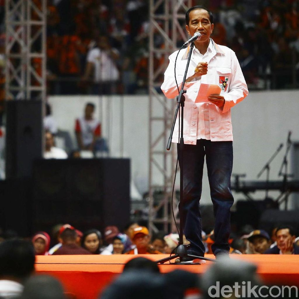 Jokowi: Pemilu itu Bukan Perang!
