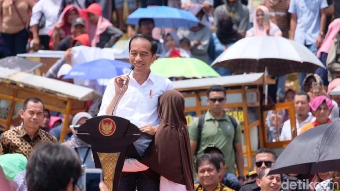 Presiden Joko Widodo (Andhika Prasetia/detikcom)