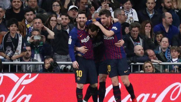 5 Fakta Mencengangkan Usai Barcelona Mengalahkan Real Madrid