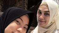 Pasca Syahreino Nikah, Luna Maya Tunjukkan Kebahagiaan Saat Umroh