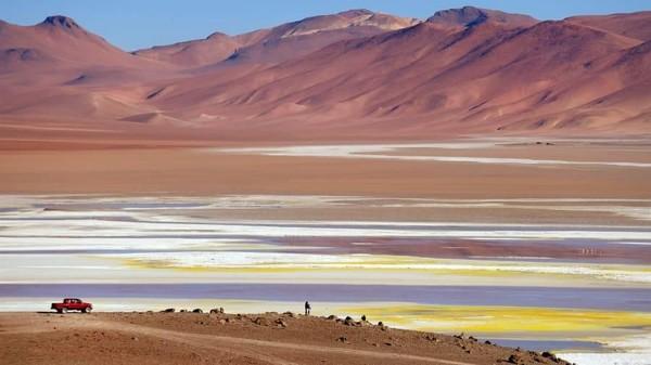 Baru-baru ini ditemukan sebuah bakteri aneh dari dalam tanah di Gurun Atacama. Kabarnya, bakteri itu belum diketahui oleh para ilmuwan (Explora Atacama)