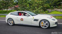 Intip Ferrari yang Dikendarai Suami Dian Sastro di Tol Trans Jawa