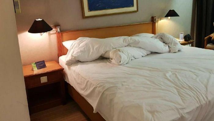 Foto: Hotel tempat Andi Arief ditangkap/Istimewa