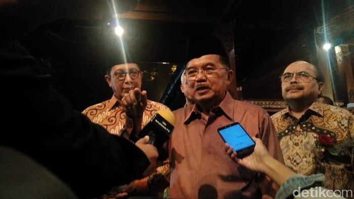 Wapres Jusuf Kalla atau JK (Muhammad Fida Ul Haq/detikcom)
