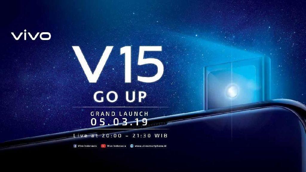 Vivo V15 Mau Launching di Purwakarta, Berikut Fakta Menariknya