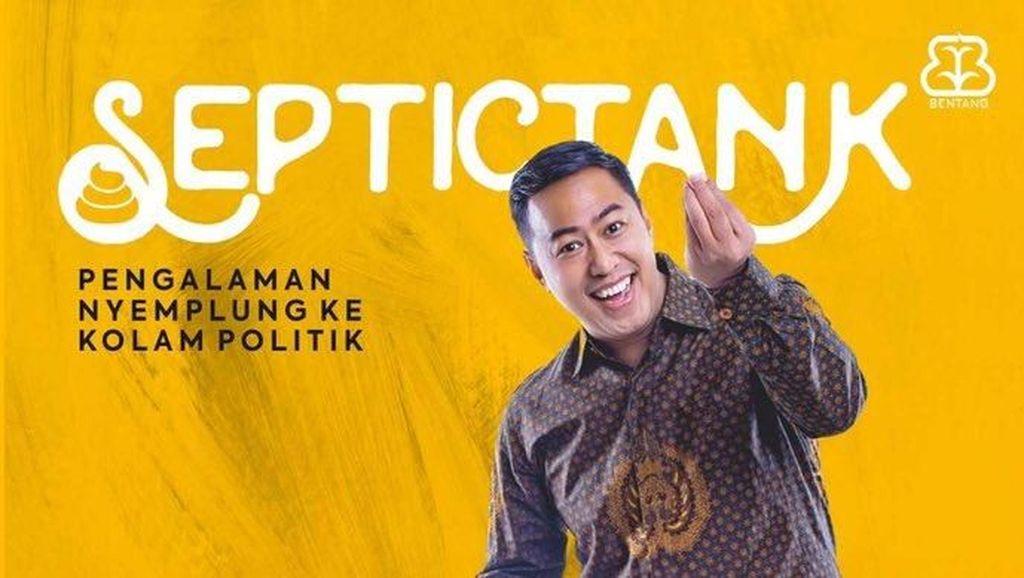 Pandji Pragiwaksono Segera Rilis Buku ke-8 Septictank di Yogyakarta