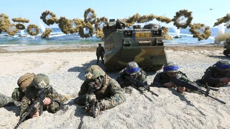 AS dan Korea Selatan Hentikan Latihan Militer Besar-besaran