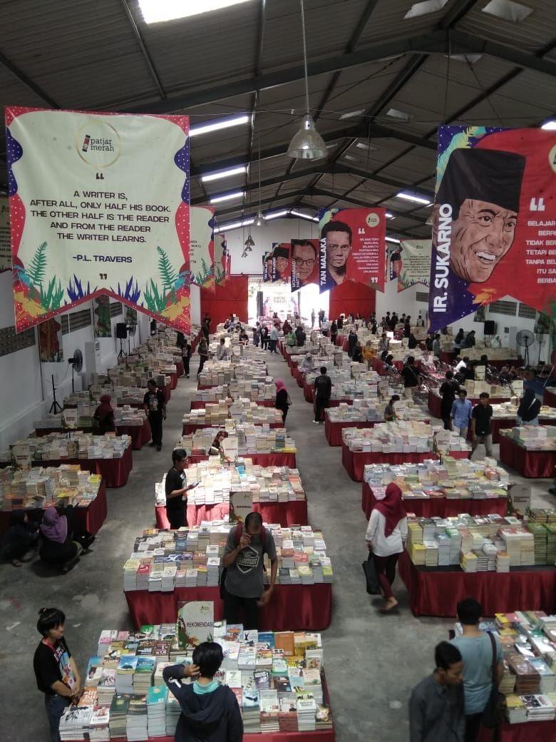 Puluhan Penulis dan Sejuta Buku Meriahkan Festival Patjar Merah Yogyakarta