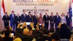 RI-Australia Teken Perjanjian Perdagangan Bebas