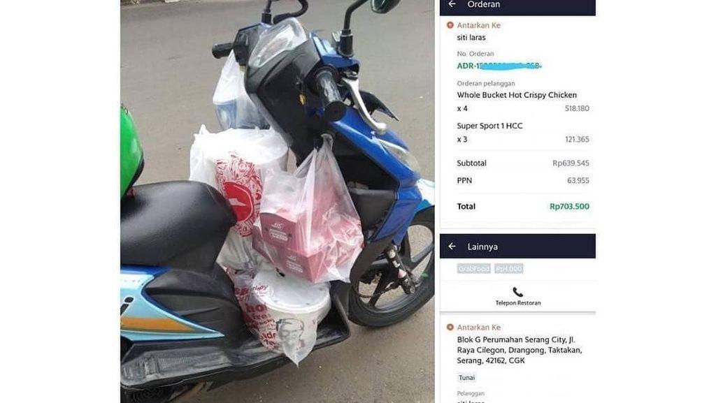 Kasihan! Ini Kisah-kisah Driver Ojol yang Tertipu Order Makanan Fiktif