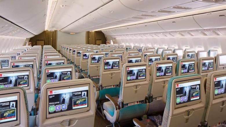 Ilustrasi kursi pesawat (CNN Travel)