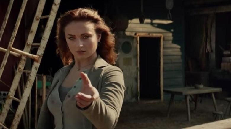 Sophie Turner sebagai Jean Grey di X-Men: Dark Phoenix Foto: (imdb.)