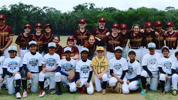Tim bisbol putri butuh dana besar untuk kejuaraan di Australia.(Dok.Timnas Bisbol Putri Indonesia)