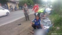 Biker Tewas Tertabrak Mobil PNS di Mojokerto