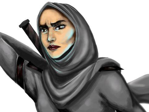 Mengenal Qahera, Superhero Berhijab yang Siap Bela Kaum Perempuan