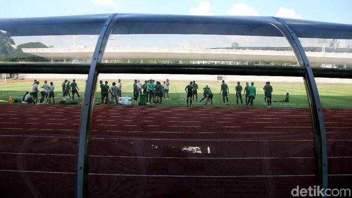 Ilustrasi Stadion Madya, Kompleks GBK, Senayan, Jakarta Pusat. (Rengga Sancaya/detikSport)
