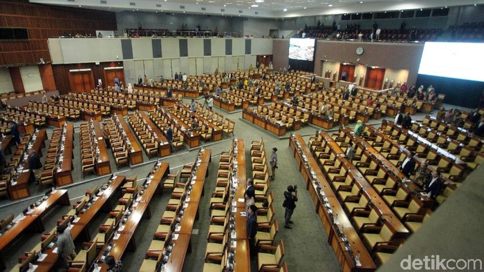 Foto: Ilustrasi sidang DPR (Lamhot Aritonang)