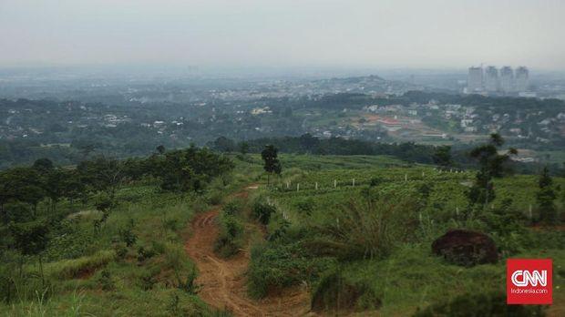 Kondisi lintasan di De'Pes Villa, Resto, dan Offroad Land, Bogor, Jawa Barat.