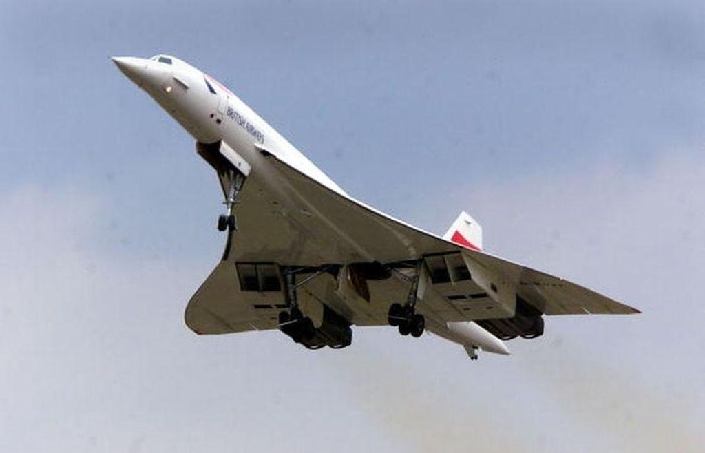 Concorde beroperasi sampai tahun 2003. Pembuatnya adalah Inggris dan Perancis. Pesawat yang tersisa telah dimuseumkan. Foto: Getty Images