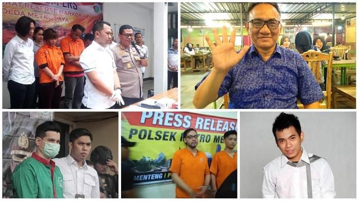 Andi Arief jadi salah satu tokoh yang terjerat kasus narkoba di tahun 2019. (Foto: tnternet)