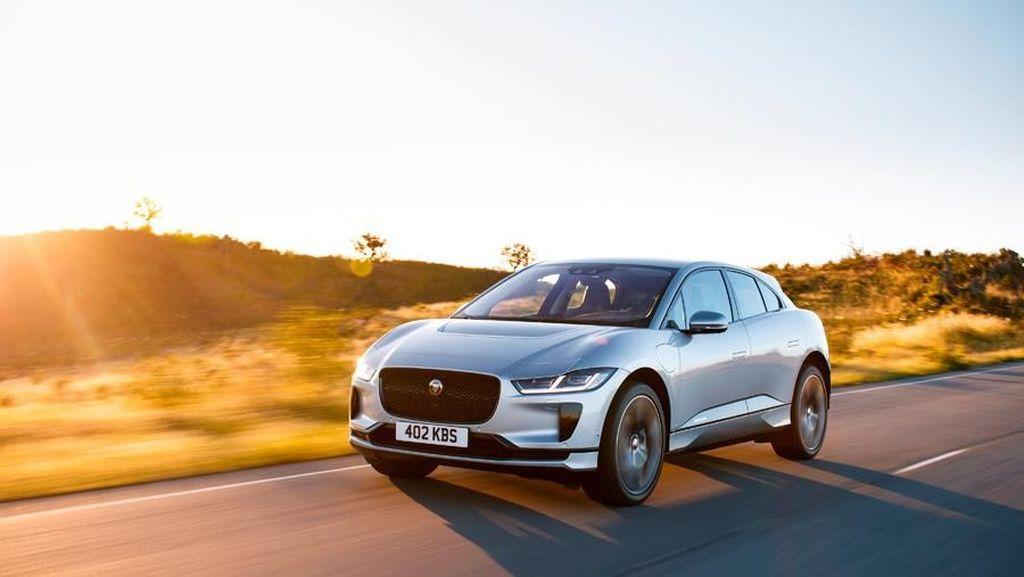 Mobil Listrik Jaguar Jadi Taksi di Norwegia, Bisa Dicas Tanpa Kabel